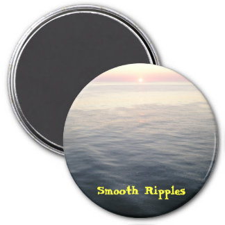P8254925 - Smooth Ripples, Smooth Ripples 7.5 Cm Round Magnet