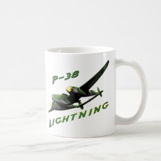 P-38 Lightning Coffee Mug