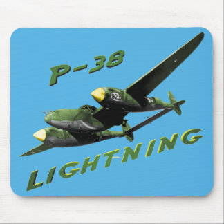 P-38 Lightning Mouse Pad