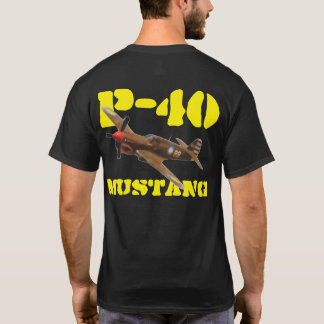 P-40 MUSTANG FLYING TIGER T-Shirt