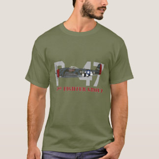 P-47 Profile 56th Fighter Group T-Shirt