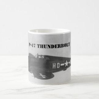 "P-47 "" Thunderbolt "" 1944 Coffee Mug"