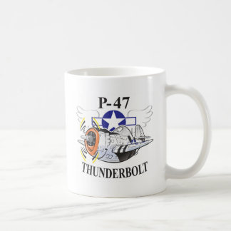 p-47 thunderbolt coffee mug