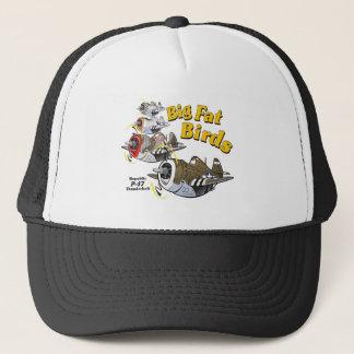 P-47 thunderbolt in formation trucker hat
