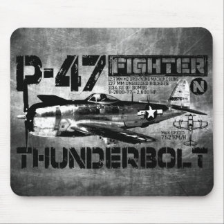 P-47 Thunderbolt Mouse Pad