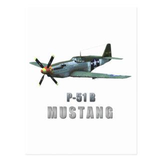 P-51 B Mustang Postcards