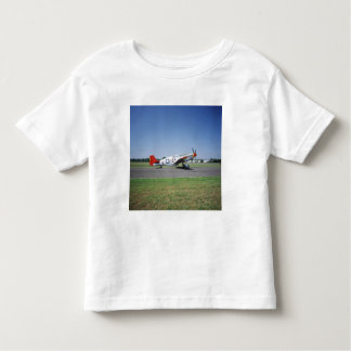P-51 C Tuskegee Red Tail airplane at the CAF Air Toddler T-Shirt