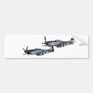 P-51 Mustang Bumper Sticker