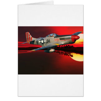 P-51 MUSTANG CARD