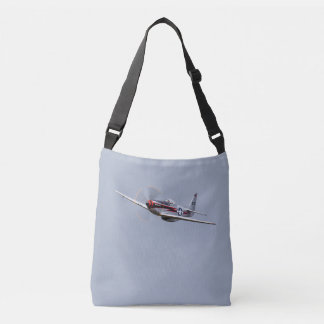 P-51D Mustang flyby Crossbody Bag