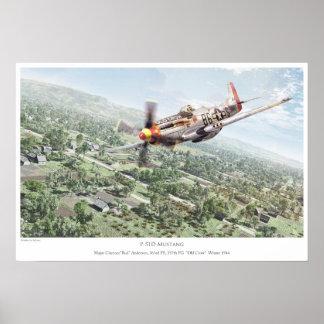 P-51D Mustang Poster