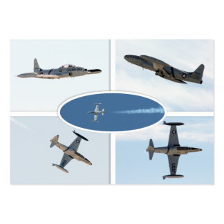 P-80 Shooting Star 5 Plane Set Pack Of Chubby Business Cards