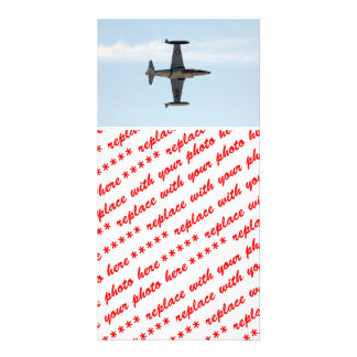 P-80 Shooting Star Personalized Photo Card