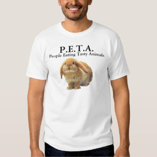 P.E.T.A. People Eating Tasty Animals Tshirt