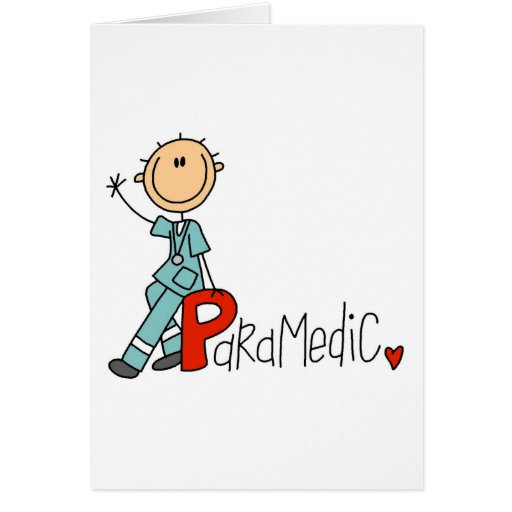 P is for Paramedic Card
