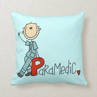 P is for Paramedic Cushion