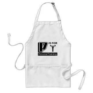 P Is For Personal Training Aprons