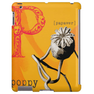 P is for poppy