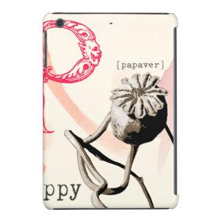 P is for poppy iPad mini case