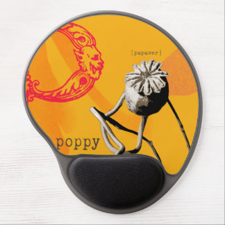 P is for poppy gel mouse pads