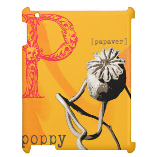 P is for poppy case for the iPad