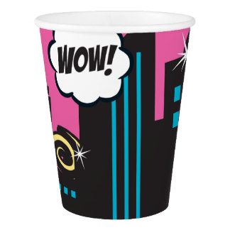 P.J. Tuttles Naturally Super, 9 oz Paper Cups