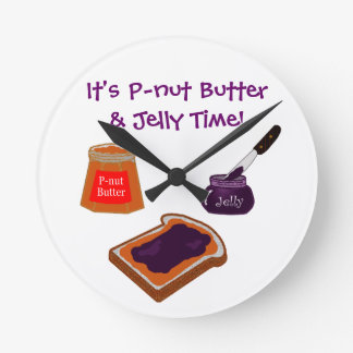 P-nut Butter & Jelly Time Clock