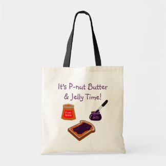 P-nut Butter & Jelly Time Tote