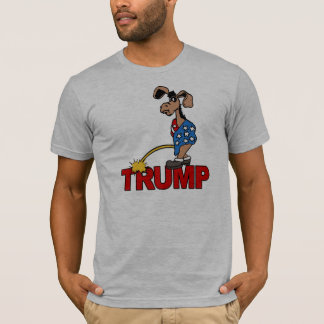 P ON TRUMP - Democrats -- Anti-Trump Design - T-Shirt