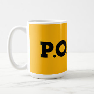 P.P.O.S. Golden Shower Coffee Mug