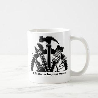 P.S. Home Improvements Coffee Mugs