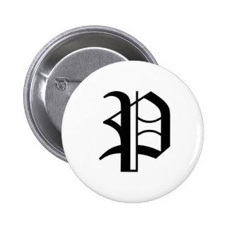 P-text Old English Pins