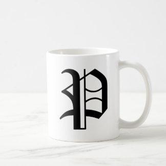 P-text Old English Coffee Mug