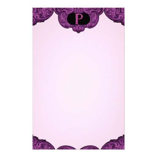 P - The Falck Alphabet (Pink) Stationery
