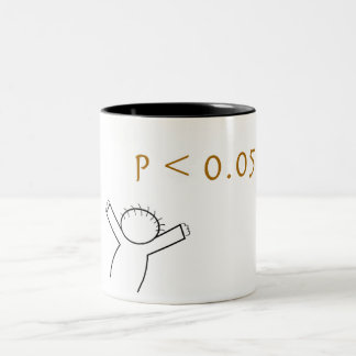 P-value mug for statisticians