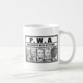 P.W.A BASIC WHITE MUG