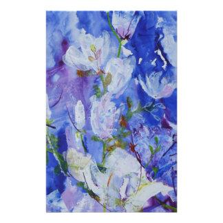 © P Wherrell Contemporary magnolia fine art Customized Stationery