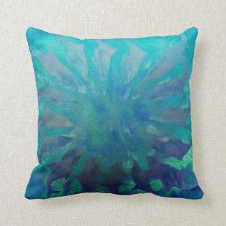 © P Wherrell Dolphin Circle Throw Pillow Cushion