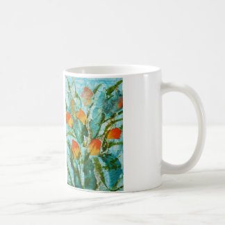 © P Wherrell Fine art painting spring tulips Coffee Mug