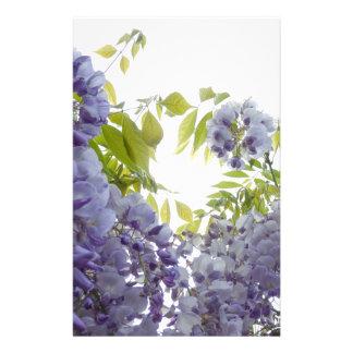 © P Wherrell Stylish Fine art photograph wisteria Stationery Paper