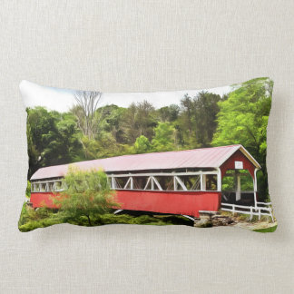 PA Covered Bridges Pillows