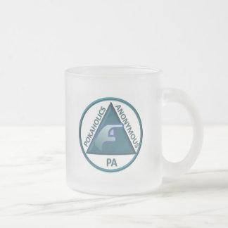 PA Frosted Glass Mug