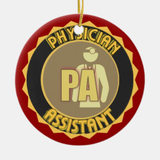 PA LOGO PHYSICIAN ASSISTANT CHRISTMAS ORNAMENT