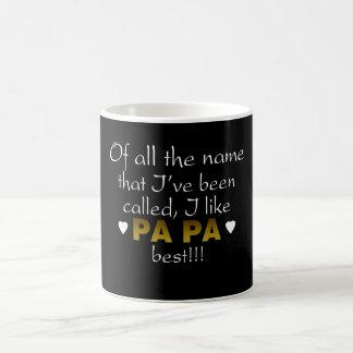 PA PA BEST BASIC WHITE MUG