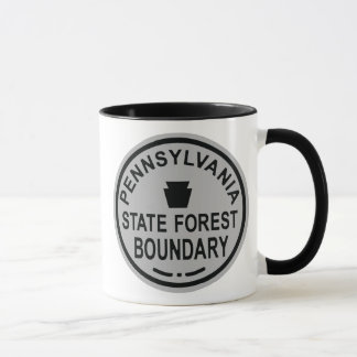 PA State Forest Boundary Mug
