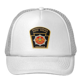 PA STATE POLICE MESH HAT
