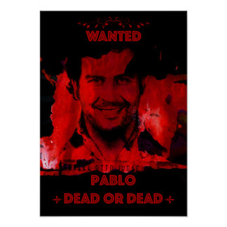 Pablo Wanted Poster
