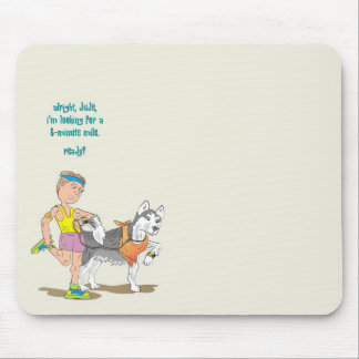 Pacer Runner Mouse Pad