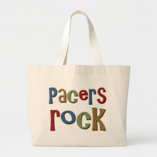 Pacers Rock Tote Bags