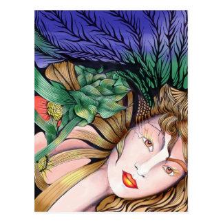 Pachamama Mother Earth Postcard